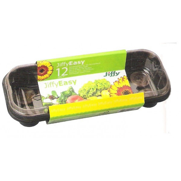 JIFFY-7 GREENHOUSE TRAY 12 TABLETS - 1 UNIT