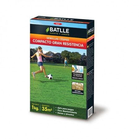COMPACT GREAT RESISTANCE GRASS SEEDS 5KG