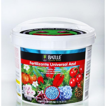 BLUE UNIVERSAL FERTILIZER BUCKET 6KG