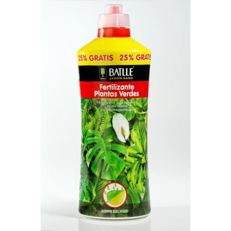 FERTILIZANTE PLANTAS VERDES 1250ML