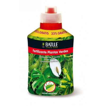 FERTILIZANTE PLANTAS VERDES 400ML