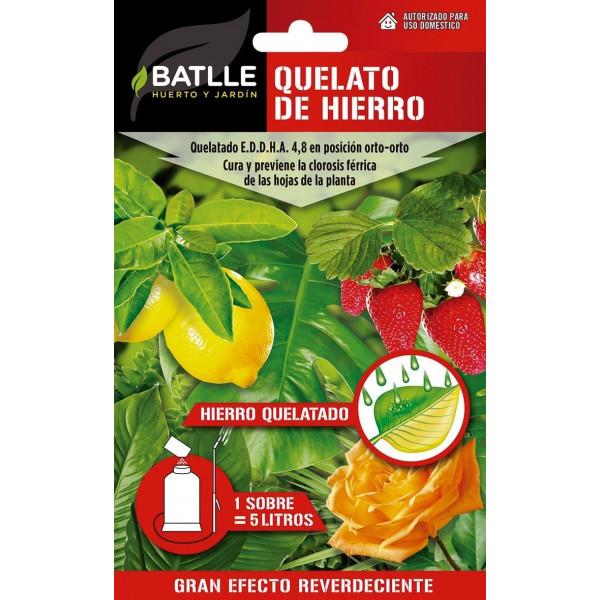 QUELATO DE HIERRO PARA 1L