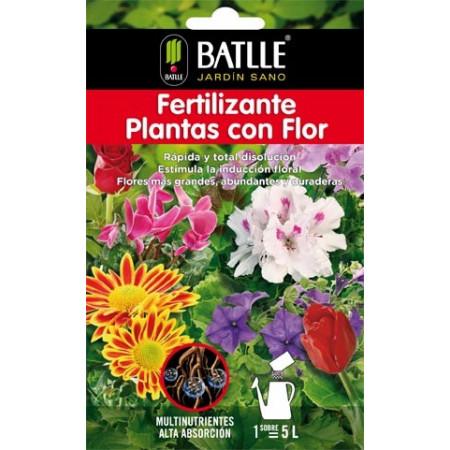 FERTILIZANTE PLANTAS CON FLOR SOBRE 5L