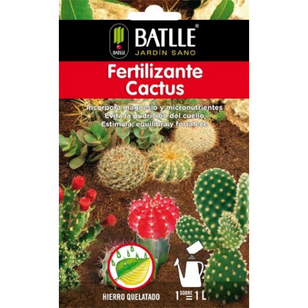 CACTUS FERTILIZER ENVELOP