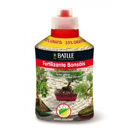 FERTILIZANTE BONSÁIS 400ML