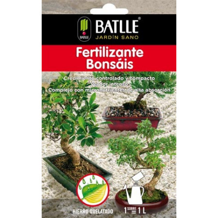 BONSAI FERTILIZER ENVELOP