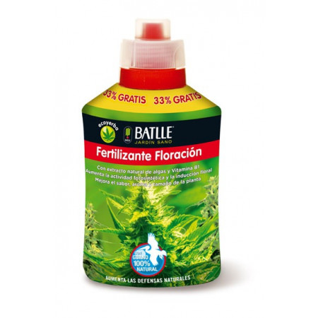 FERTILIZANTE FLORACIÓN 400ML