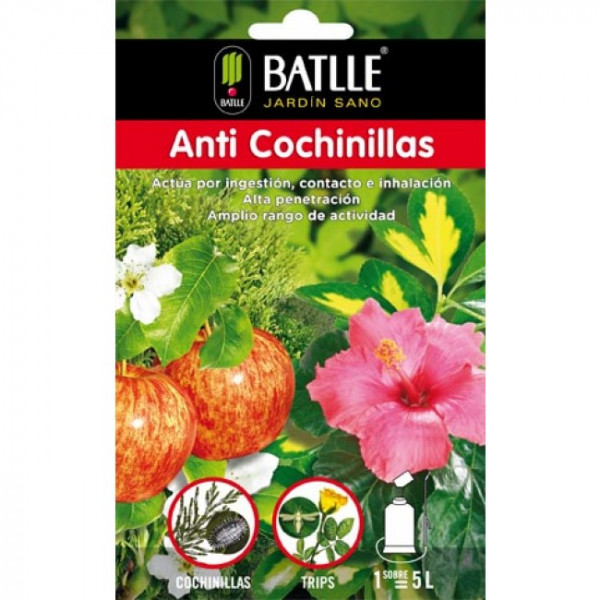 ANTI COCHINEAL INSECTICIDE ENVELOPE TO 750ML