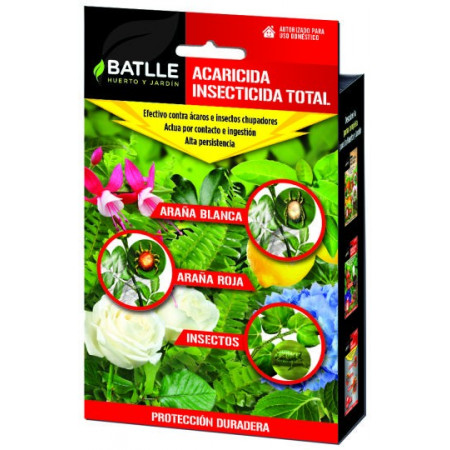 TOTAL INSECTICIDE ACARICIDE BOX 40ML