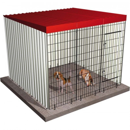 BOX FOR DOGS 201x201x174cm