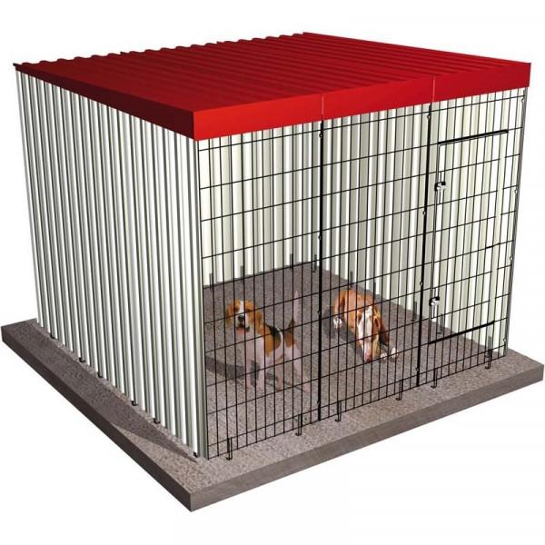 BOX PARA PERROS 201x201x174cm