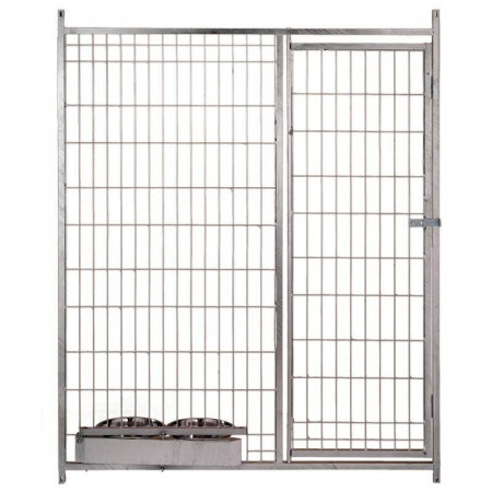 FRONT MESH FOR BOXES WITH DOOR AND FEEDERS