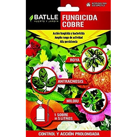COPPER FUNGICIDE ENVELOPE 5L