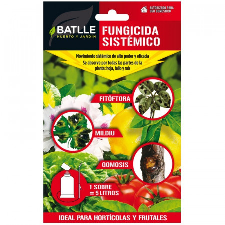 SYSTEMIC FUNGICIDE ENVELOPE 750ML
