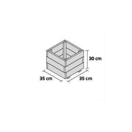 JARDINERA PUN 35x35x30cm