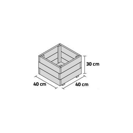 JARDINERA PUN 40x40x30cm