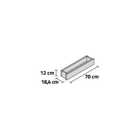 JARDINERA ISLAND LINE BANDEJA 70 70x16.4x12cm