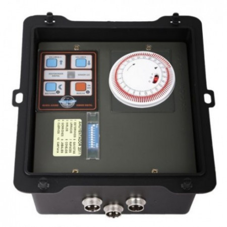 DIGITAL BIRD DRIVER WITH ANALOG CLOCK PROGRAMMER + SPEAKER