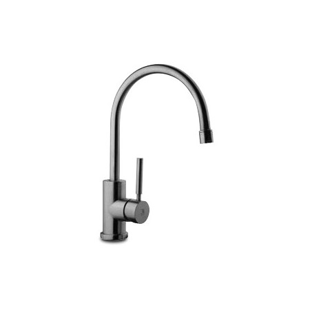STAINLESS STEEL ONE-HANDLE GOOSENECK TABLE TAP