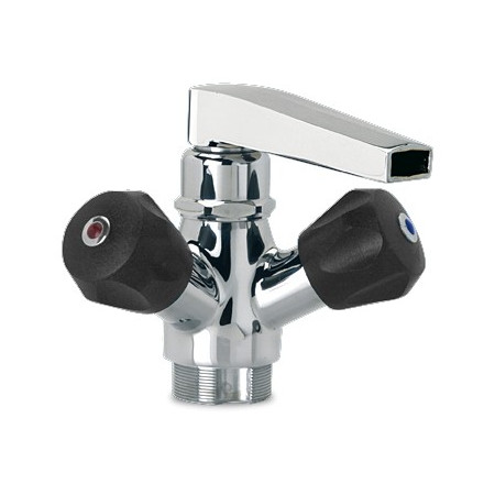 LOW PROFILE SPOUT MODEL DOUBLE INLET ROTATING TAP