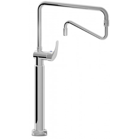 DOUBLE INLET ONE HANDLE ADJUSTABLE COLUMN TAP