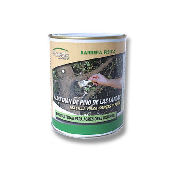PUTTY FOR COURTS AND PRUNING OF ALQUITRÁN OF PINE OF THE LANDAS