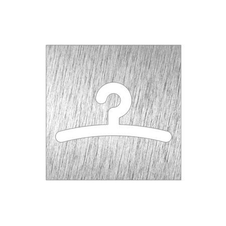 PICTOGRAM DRESSING ROOM OR CLOAKROOM