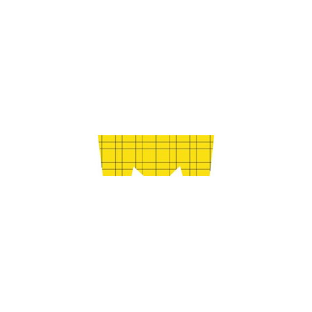 RECHARGE ADHESIVE PLATES (PACK 10UND) YELLOW