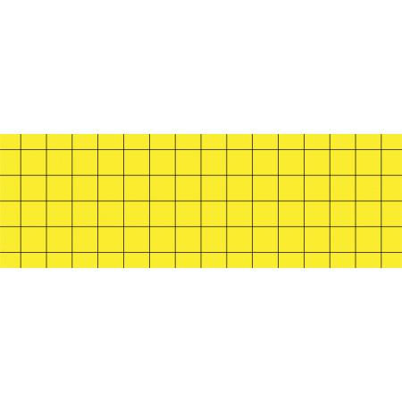 YELLOW ADHESIVE CARDBOARD PLATES (PACK 6 UND.)