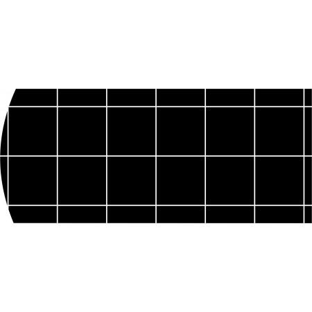 BLACK ADHESIVE CARDBOARD PLATES (PACK 10UND)