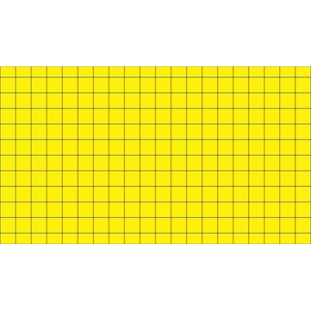 ADHESIVE PLATES YELLOW CARDBOARD (PACK 6UND)
