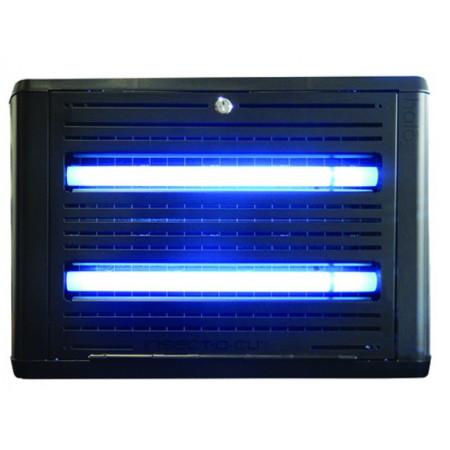 lámpara eléctrica para moscas y mosquitos por lámina adhesiva mod. hl30-black