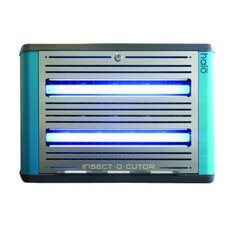 exterminador eléctrico de insectos voladores por lámina adhesiva mod. hl30-shades-b