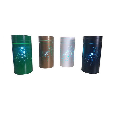 lamps in various colors catch flies and mosquitoes on adhesive plate