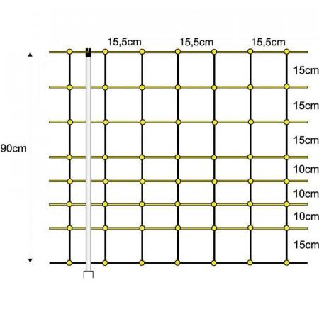 ELECTRICAL MESH SHEEP 0,90X50cm