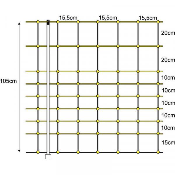 CABINES DE MAILLE ÉLECTRIQUES 1.05X50cm