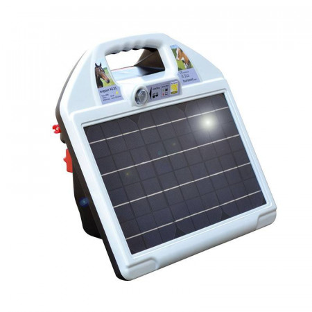 SHEPHERD FOR SOLAR ENERGY WITH BATTERY TRAPPER AS35 SOLAR 12 / 230V