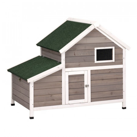 WOODEN HOUSE FOR MDLO.FRANCIA CHICKENS
