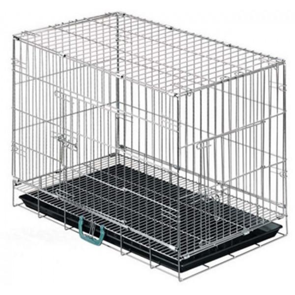 cage pour animaux avec plateau inférieur