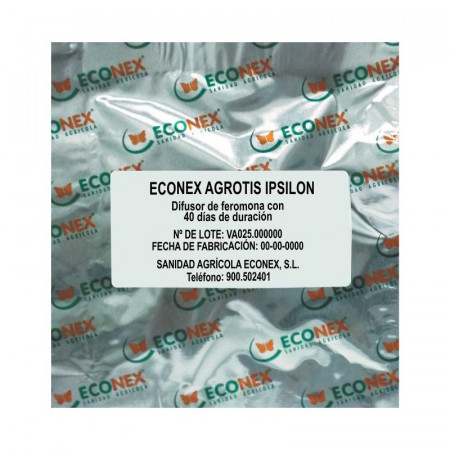 DIFUSOR ECONEX DE FEROMONA AGROTIS IPSILON 2 MG.