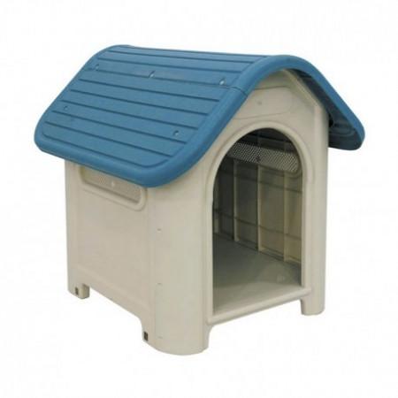 caseta de plástico para perros de raza pequeña