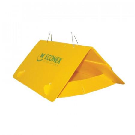 Tram jaune triangle sans...