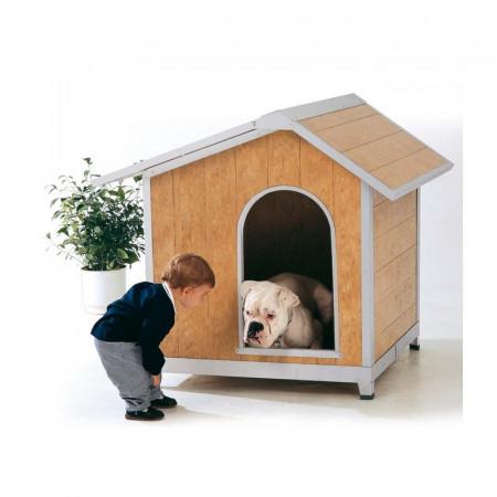 Robusta y gran caseta para perros