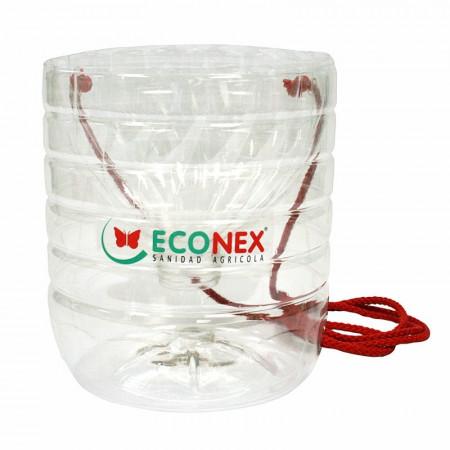 Plastic trap for cerambyx pheromones