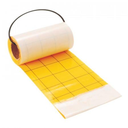 Rouleau chrome jaune 600x10cm.