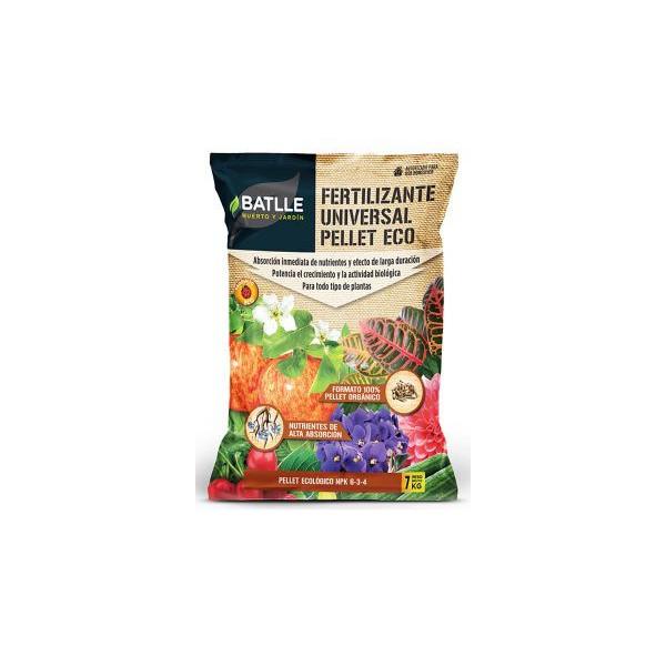 Fertilizante pellets orgánicos producto natural