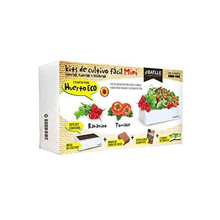 Mini garden cultivation kit