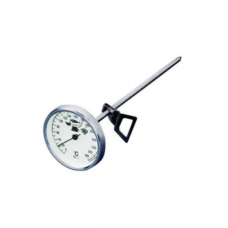 Round thermometer with...