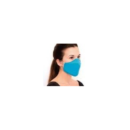 Reusable mask with inner and outer layer.