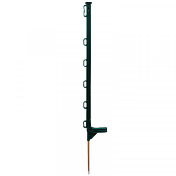 Poste plástico 0,75 m para pastor eléctrico